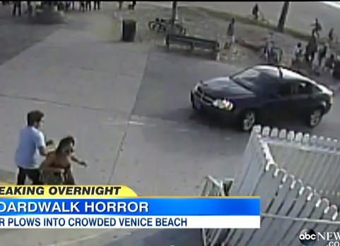 Car Plows Into Crowd on Venice Beach Boardwalk
