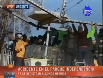 El accidente en el parque Independencia