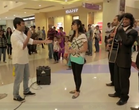 MALL PROPOSAL GOES TERRIBLY WRONG