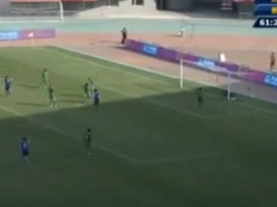 Incredibly dumb own goal at 12th National Games of China
