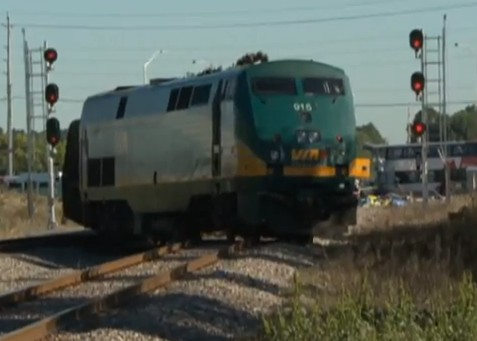 Ottawa train and bus crash