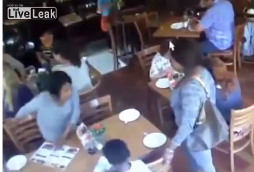 Mother Lets little girl steal Cellphone
