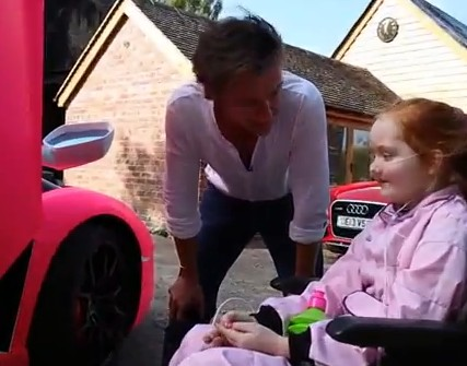 Richard Hammond grants Emilia