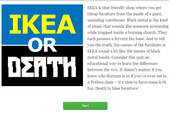 ikea or death