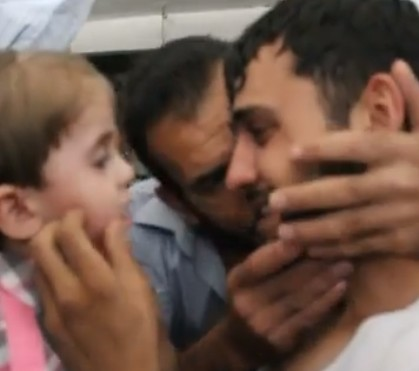 The first truly heartwarming video from Syria in a long time