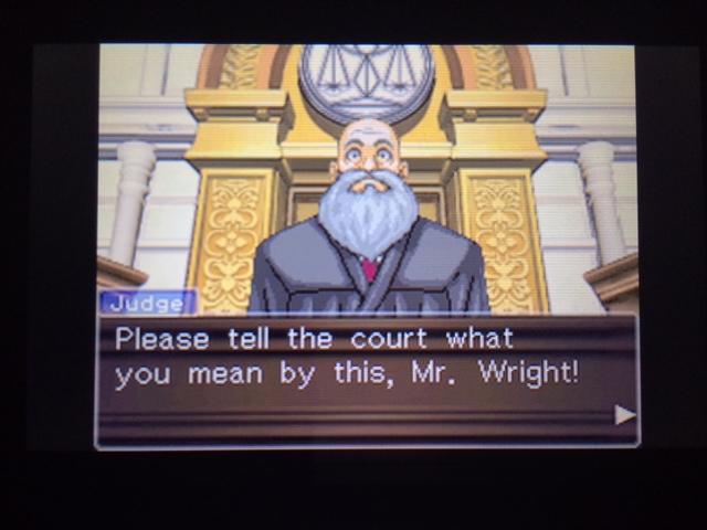 逆転裁判 北米版 オールドバグ証言2-25