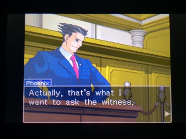 逆転裁判 北米版 オールドバグ証言2-26