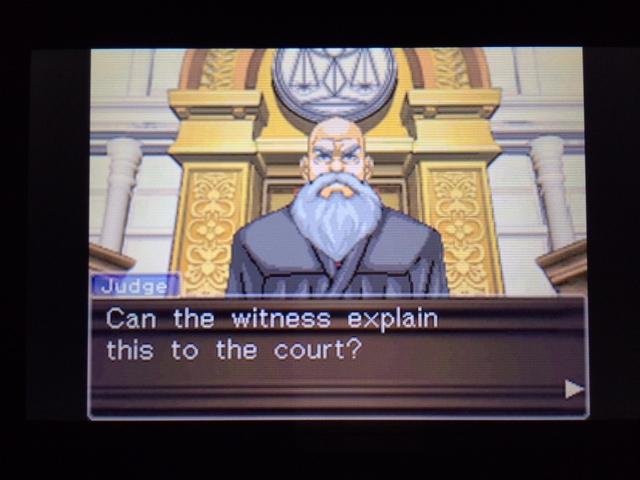 逆転裁判 北米版 オールドバグ証言2-33
