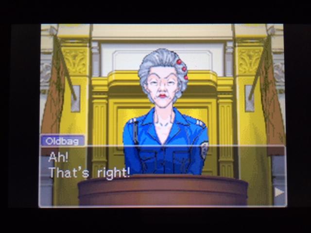 逆転裁判 北米版 オールドバグ証言2-42