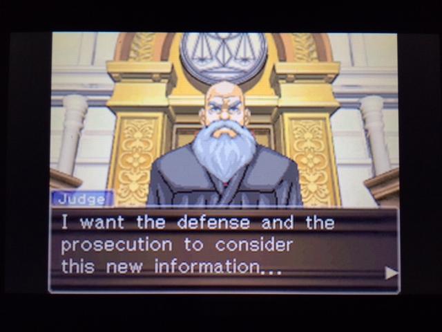 逆転裁判 北米版 オールドバグ証言3-37