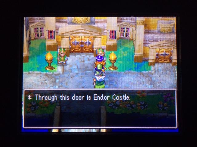 ドラクエ4 北米版 エンドア城3