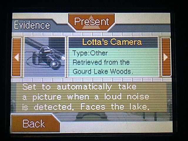 逆転裁判 北米版 ロッタのカメラ2