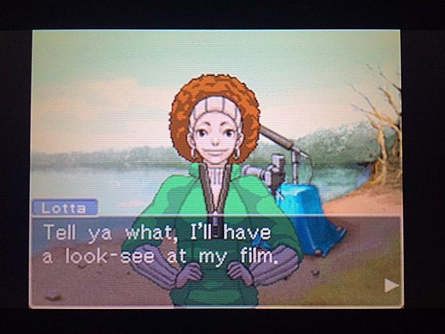 逆転裁判 北米版 ロッタのカメラ17