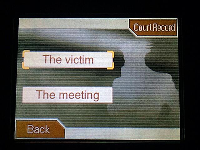 逆転裁判 北米版 警察署のガムシュー 被害者やミーティングについて9