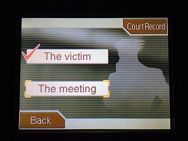 逆転裁判 北米版 警察署のガムシュー 被害者やミーティングについて14