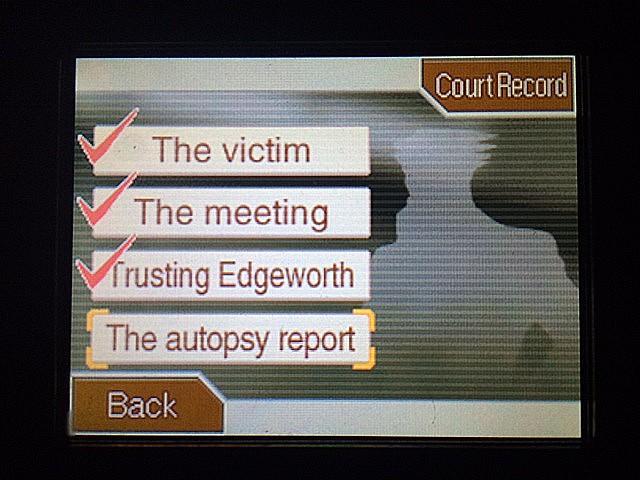 逆転裁判 北米版 絆と検死報告書18