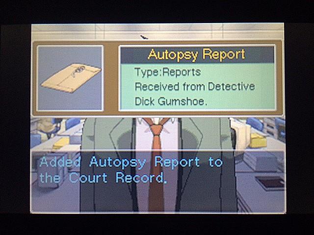 逆転裁判 北米版 絆と検死報告書21
