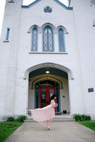 ballerina in prom