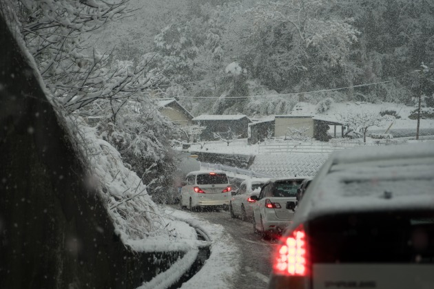 岡山へ雪中行軍!~往路~-18