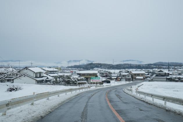 岡山へ雪中行軍!~復路は高速通行止め(汗)~-003