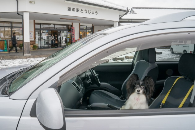 岡山へ雪中行軍!~復路は高速通行止め(汗)~-021
