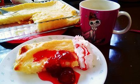 フィンランドのパンケーキ
