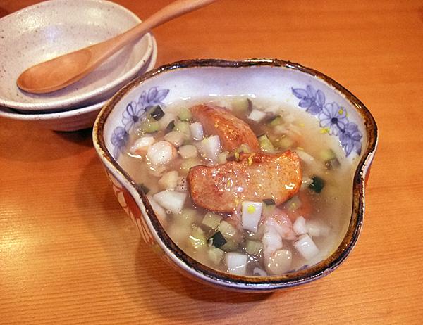 海老芋のあんかけ