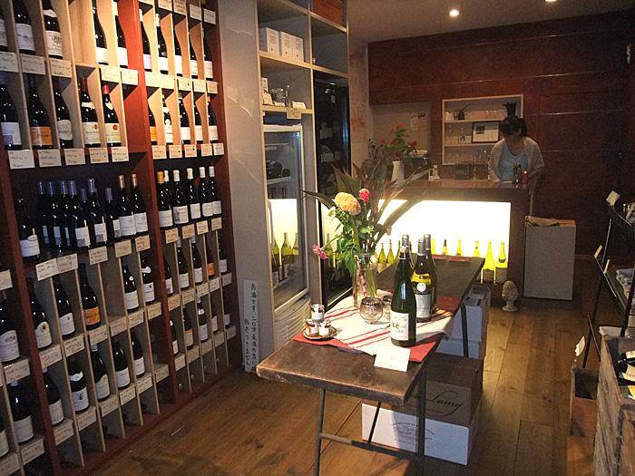 中野のワイン店『ラ・ルーシュ』店内
