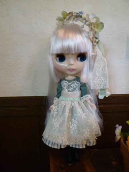 花冠のドレスセット♪