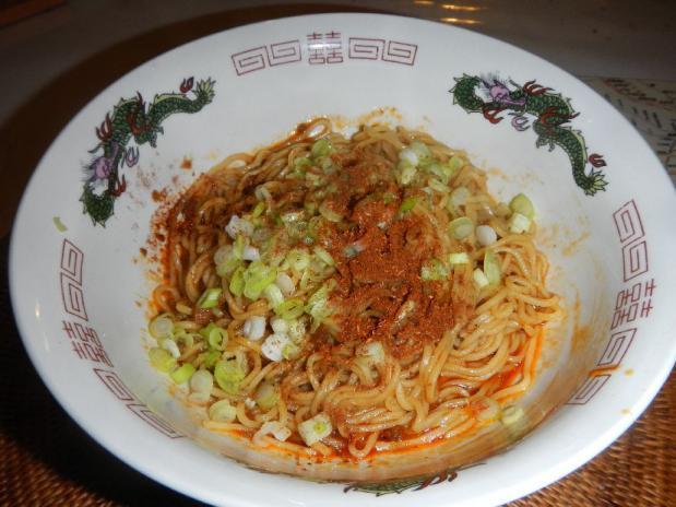 汁なし坦々麺 (3)