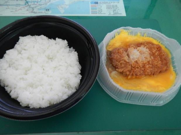 ローソン亭かつ丼 (3)