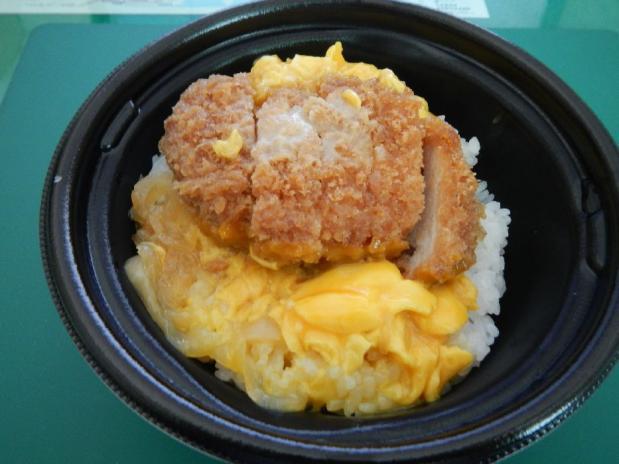 ローソン亭かつ丼 (4)
