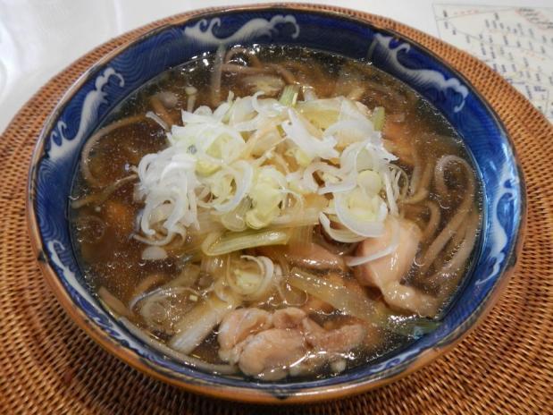 冷たい肉そば (2)