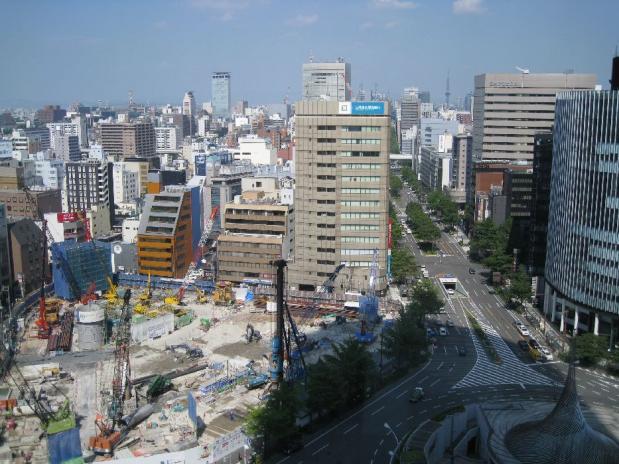 名古屋美々卯 からの景色 (2)