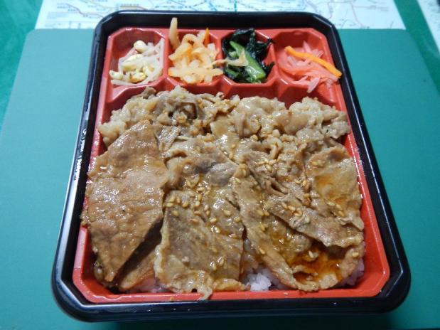 叙々苑焼き肉弁当 (6)