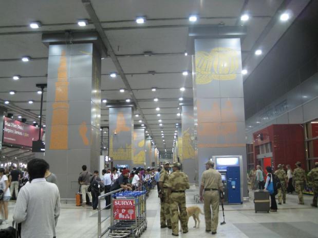 インド旅行まるさち1日目 (1)