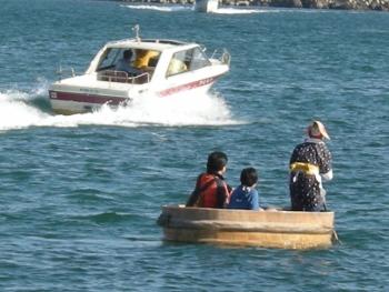 たらい舟1