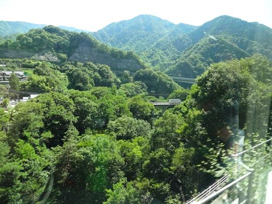 松本行きあずさからの景色