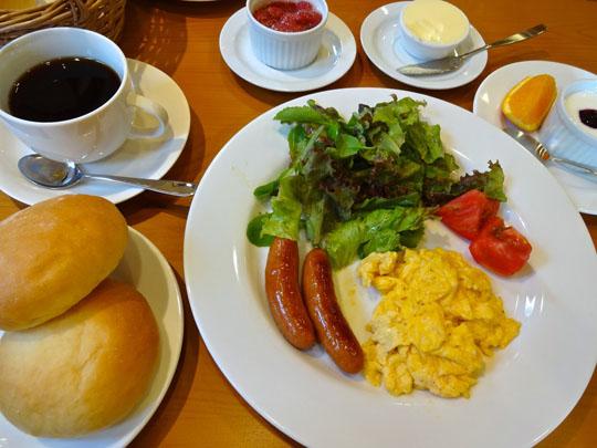 ペンション朝食