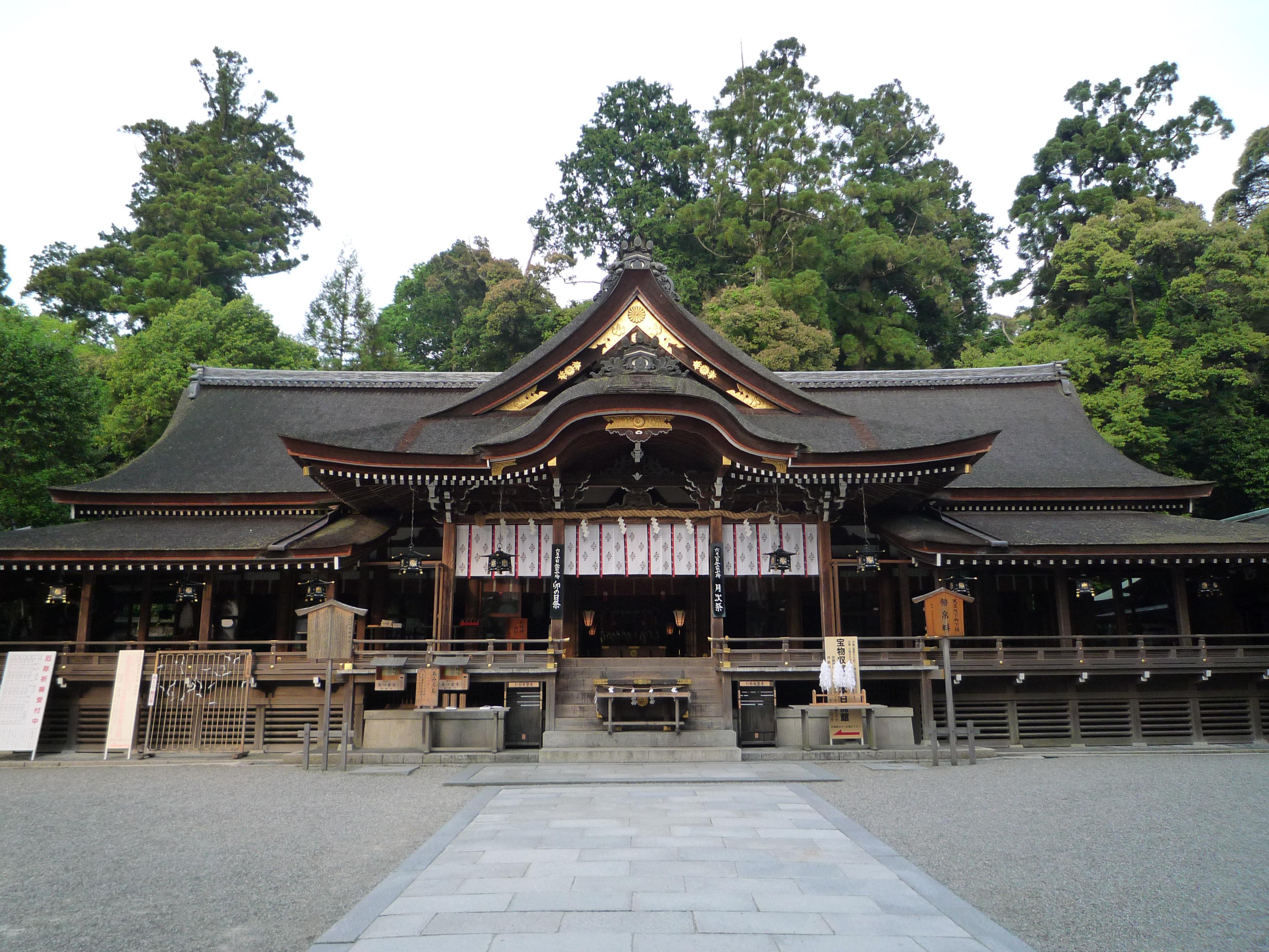 a7大神神社拝殿