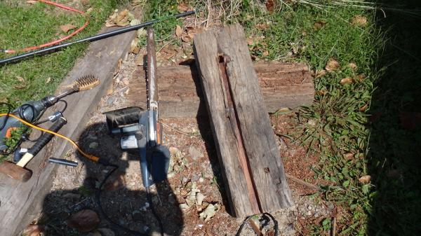 水栓柱製作中