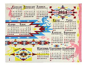 ジュートカレンダー アグマニットチマヨ 1