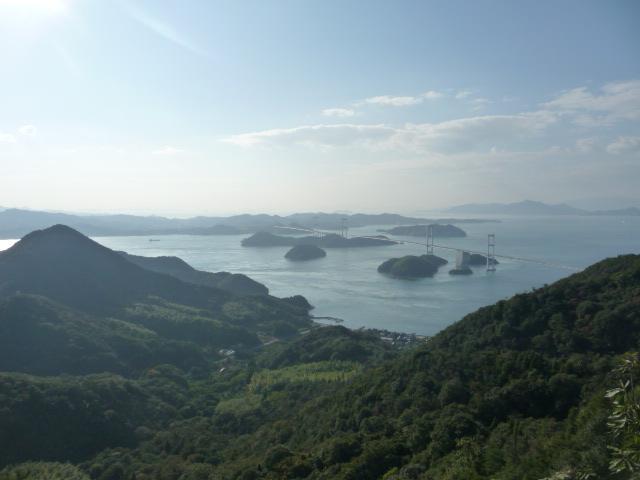 すごく素敵な景色のしまなみ大島