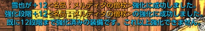 メル杖+12成功