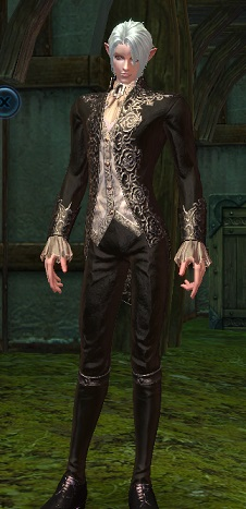 槍スーツ黒