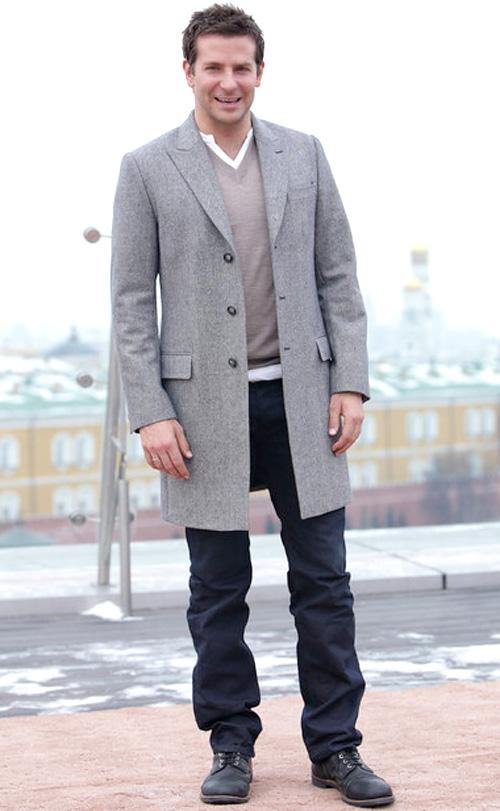 ブラッドレイ・クーパー(Bradley Cooper):ドルチェ&ガッバーナ(Dolce & Gabbana)ディーゼル(DIESEL)
