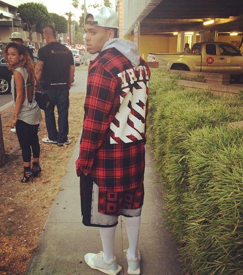 クリス・ブラウン(Chris Brown):オフ-ホワイト CO ヴァージル アブロー(Off-White CO Virgil Abloh)リックオウエンス(Rick Owens)×アディダス(Adidas)