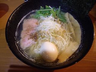 鯛煮干ラーメン 麺屋 鯱 塩らーめん