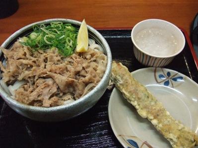 麺処綿谷【牛肉ぶっかけ】