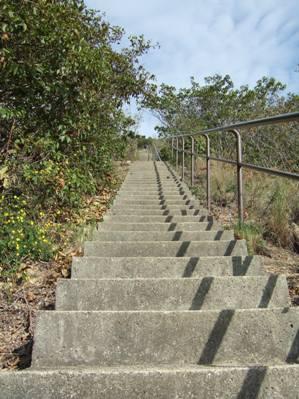 400段の階段